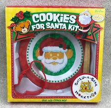 Build A Bear Christmas Cookies for Santa Kit Plate Cutter Spatula Recipe Cards