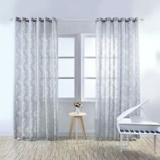Home Modern Curtains Balcony Bedroom Kitchen Decor Window Sheer Drapes Washable