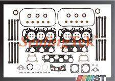 compatible 03-05 HONDA ACCORD V6 3.0l j30a4 Junta de culata motor Juego Pernos