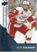 Riley Sheahan #18 - 2016-17 Overtime - Base Blue Foil
