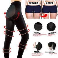 Sculpting Sleep Leg Shaper Pants Legging Socks Women Black Body Shaper Panties