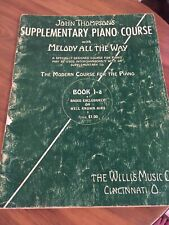 John Thompson Supplementary Piano Lesson Book 1-A