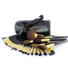 32 Piece Professional Kabuki Make Up Brush Set with Cosmetic Brushes Case