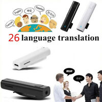 26 Multi-language Voice Translator Smart Wireless Headphone For Travel Meet VAUS