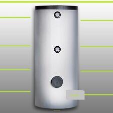 1A Solarspeicher 200L 2 WT + Th. Pufferspeicher für Trinkwasser Heizung Solar