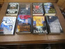 Stephen King Antiquarian & Collectable Books with Dust Jacket