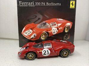 1/18 GMP 1967 Ferrari 330 P4 Berlinetta SPA Scarfiotti Parkes Part # GMP18041045