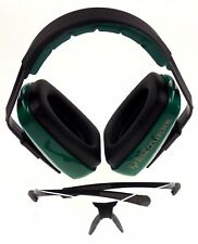 Bone Collector Muzzle Green Ear Muff Nrr23 Clear Lens Safety Glasses Hunt Shoot