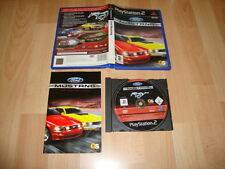 FORD MUSTANG THE LEGEND LIVES DE TAKE TWO PARA LA SONY PS2 USADO COMPLETO