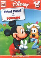 Disney - primi passi con Topolino PC Cd-rom