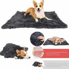 Pet Sleeping Mat Fluffy Plush Cat Dog Blanket Pet Throw Blanket Cushion Mattress