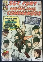 SGT. FURY AND HIS HOWLING COMMANDOS. NO. 12. SILVER AGE 1964. JACK KIRBY-COVER