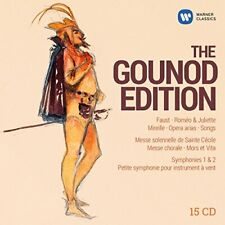The Gounod Edition - Faust, Romeo and Juliette, Mirelle, Opera arias, [CD]