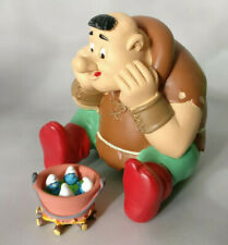 Figurine Grossbouf et marmite schtroumpfs N°11 et n°9 Neuf 10 cm village