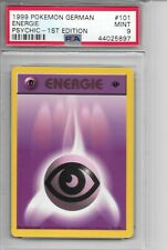 PSYCHIC ENERGIE DEUTSCH GERMAN 1st Edition BASE SET PSA 9 MINT Pokemon Card #101