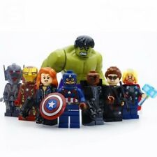 Lot of 8 Super Heroes Avengers Minifigures LEGO Toys Captain Hulk Iron Man #