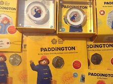 2018 PADDINGTON at Station or Buckingham Palace - Sterling Silver Proof 50p Coin