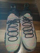 NIKE AIR ZOOM KD11 MultiColor Rainbow Basketball Shoes (AO2604-001) Size 11