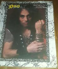 Ronnie James Dio World Tour Program