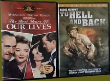 The Best Years of Our Lives - Audie Murphy To Hell And Back Like New Dvd Wwii