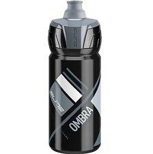 Elite Crystal Ombra Membrane Bike 550ml Black Grey Cycle Bottle
