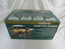 Galleria Gold: 8 Light Cast Aluminum Low Voltage Landscape Lighting System