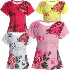 Markenlose Kurzarm Mädchen-T-Shirts & -Tops