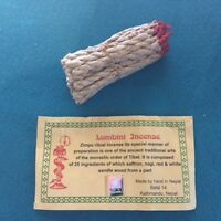 Authentic Tibetan Rope Incense With or without  Burner Choose The Scent