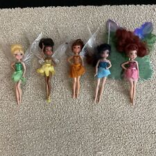 """Disney Tinkerbell Tink And Friends Fairy Fairies 6"""" Doll Figures Lot Of 5"""