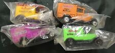 Set of 4 NIP Kelloggs Cereal Promo Matchbox Model A and T Ford Trucks Diecast