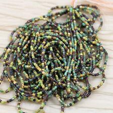 "RARE!!! 9/0  3Cut Picasso Mega Mix Czech seed beads - 1hank - 10/18"""