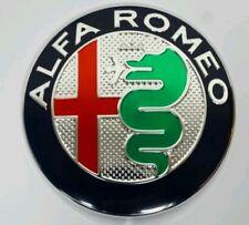 2x Alfa Romeo Classic Emblem Badge 147 156 159 Brera Mito Giulietta Front + Back