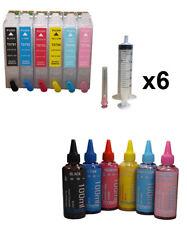 Dye Sublimation Ink Refillable Cartridges Epson Artisan 1430 Printer Non Oem Ink