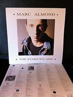 Marc Almond. The Stars We Are. 1988 Original Release Parlaphone Vinyl LP.