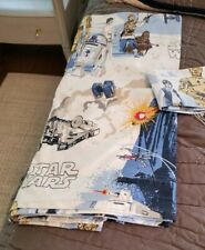 POTTERY BARN KIDS Star Wars FULL Fitted Flat Sheets & Pillow Case Set