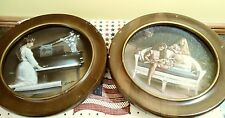 windemere classical images plates with frames robert olson signed. Lot of 2
