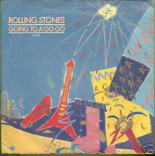 ROLLING STONES 45 TOURS HOLLANDE GOING TO A GOGO