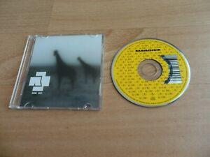 "RAMMSTEIN - KEINE LUST  (VERY RARE 2 MIX GERMAN 3"" CD SINGLE)"