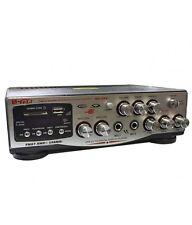 AMPLIFICATORE AUDIO STEREO INGRESSO MICROFONI KARAOKE USB SD RADIO DISPLAY