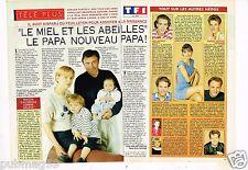 Coupure de presse Clipping 1993 (2 pages) Le Miel et les Abeilles
