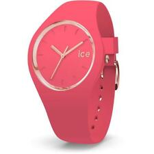 Orologio ICE WATCH GLAM IC.015335 Silicone Rosa Fucsia Gold Dorato 100mt