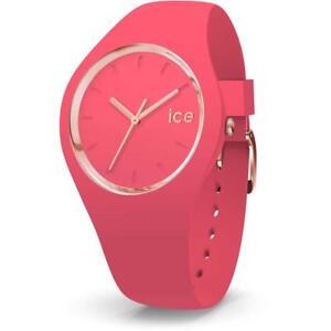 Orologio ICE WATCH GLAM IC.015335 Silicone Rosa Fucsia Gold Dorato 100mt