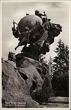Bern Schweiz s/w Postkarte ~1940 Weltpost Denkmal Monument de l'Union postale