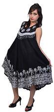 5 Pcs Pack of Boho Women Summer Batik Maxi Dress