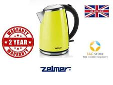 @ NEW Electric Kitchen ZELMER Kettle CK1020 Apple hot water boil fast @