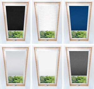 Blackout Thermal Skylight Roller Blinds For Velux Roof Windows Easy Fit, Skyroof