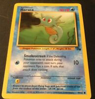 Pokemon Cards - Horsea #49/62 FOSSIL set [NM+] (1999)