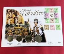 More details for 1998 qeii the definitive portrait florin collection - coin cover