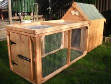 Dog Kennel and Run for Small/Medium Dog with Run - Quality item- Can Deliver