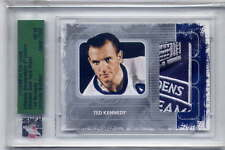 Ted Kennedy 2008 ITG Ultimate Memorabilia Maple Leaf Garden Patch #8/90